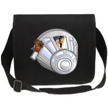 Sac bandoulière Canvas  parodique Han Solo et Chewbacca : Star Dog :) (Parodie )