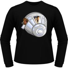 T-Shirts à manches longues  parodique Han Solo et Chewbacca : Star Dog :) (Parodie )