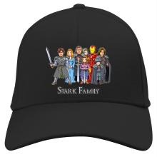 Funny Cap - Eddard, Catelyn, Robb, Sansa, Arya, Brian, Rickon and Tony Stark ( Parody)