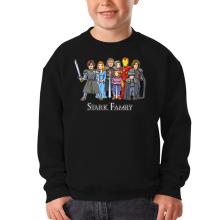 Funny Kids Sweater - Eddard, Catelyn, Robb, Sansa, Arya, Brian, Rickon and Tony Stark ( Parody)