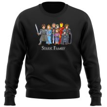 Funny Sweater - Eddard, Catelyn, Robb, Sansa, Arya, Brian, Rickon and Tony Stark ( Parody)