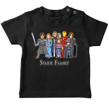 Funny T-Shirts - Eddard, Catelyn, Robb, Sansa, Arya, Brian, Rickon and Tony Stark ( Parody)