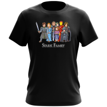 Funny T-Shirt - Eddard, Catelyn, Robb, Sansa, Arya, Brian, Rickon and Tony Stark ( Parody)