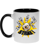Mug  parodique BB-8 et Stormtroopers : The Empire Striked Back... (Parodie )