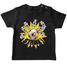T-shirt bébé  parodique BB-8 et Stormtroopers : The Empire Striked Back... (Parodie )