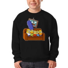 Sweat-shirts  parodique Les Minions et Homer Simpson : The Simnions (Parodie )