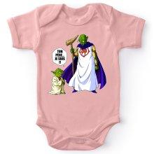 Body bébé (Filles)  parodique Yoda et Dieu : Ton père... Je suis !! (Parodie )