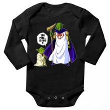 Body bébé manches longues  parodique Yoda et Dieu : Ton père... Je suis !! (Parodie )
