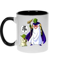 Mug  parodique Yoda et Dieu : Ton père... Je suis !! (Parodie )