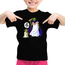 T-shirt Enfant Fille  parodique Yoda et Dieu : Ton père... Je suis !! (Parodie )