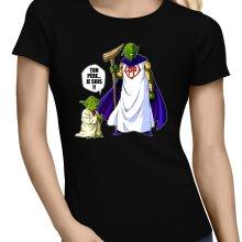T-shirts Femmes  parodique Yoda et Dieu : Ton père... Je suis !! (Parodie )