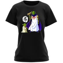 T-shirts Femmes (French Days)  parodique Yoda et Dieu : Ton père... Je suis !! (Parodie )