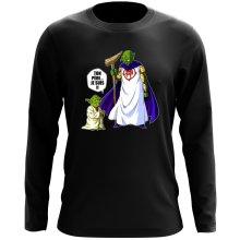 T-Shirt à manches longues  parodique Yoda et Dieu : Ton père... Je suis !! (Parodie )