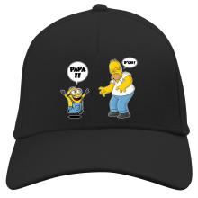 Casquette  parodique Kévin le Minion et Homer Simpson : Un fiston trop mignon :) (Parodie )