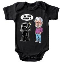Body bébé  parodique Dark Vador et George Lucas - I am your Father : Un père pas si inconnu que ça... :) (Version Originale) (Parodie )