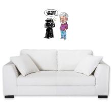 Sticker Mural  parodique Dark Vador et George Lucas - I am your Father : Un père pas si inconnu que ça... :) (Version Originale) (Parodie )