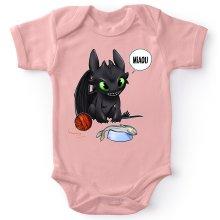 Body bébé (Filles)  parodique Krokmou : Un vrai dragon domestique... (Parodie )