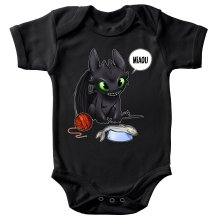 Body bébé  parodique Krokmou : Un vrai dragon domestique... (Parodie )