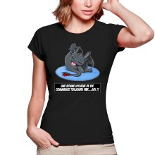 T-shirts Femmes  parodique Krokmou le Dragon : Une bonne hygiène de vie commence toujours par...soi ! (Parodie )