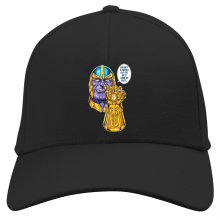 Casquette (French Days)  parodique Thanos le Super-Vilain d
