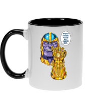 Mugs (French Days)  parodique Thanos le Super-Vilain d