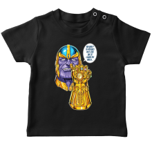 T-shirts (French Days)  parodique Thanos le Super-Vilain d