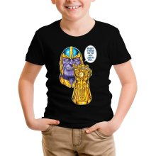T-shirts  parodique Thanos le Super-Vilain d