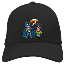 Casquette  parodique Batman et Robin : What the... !? (Dark Version) (Parodie )