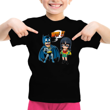 T-shirts  parodique Batman et Robin : What the... !? (Dark Version) (Parodie )