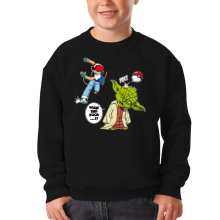 Sweat-shirts  parodique Yoda et Sacha Ketchum : What the...!? (Parodie )