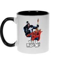 Funny Mugs - Spider-Man and Venom ( Parody)