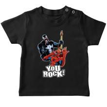 T-shirts  parodique Spider-Man et Venom : You Rock !! (Parodie )