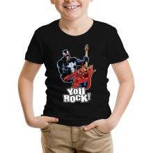 Funny T-Shirts - Spider-Man and Venom ( Parody)