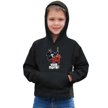 Sweat à capuche Enfant  parodique Spider-Man et Venom : You Rock !! (Parodie )