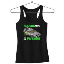 Débardeurs  parodique Link et la Delorean : A Link to the Future ! (Parodie )