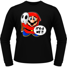 T-Shirts à manches longues (French Days)  parodique Mario et Maskass : Bas les masques :) (Parodie )
