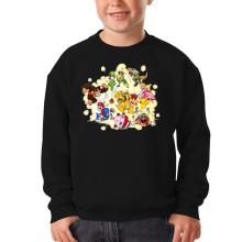 Pull Enfant  parodique Mario, Link, Fox, Bowser, Pikachu et Wario : Baston Générale à la sauce gauloise (Parodie )