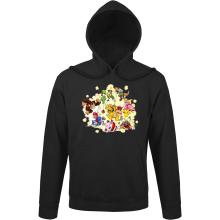 Sweat à capuche  parodique Mario, Link, Fox, Bowser, Pikachu et Wario : Baston Générale à la sauce gauloise (Parodie )