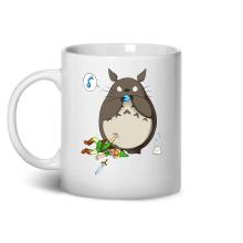 Mug  parodique Link et Totoro : C