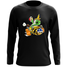T-Shirt à manches longues  parodique Yoshi : Kart Fighter - Player 3 (Parodie )