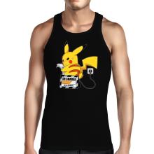 Débardeur  parodique Pikachu : En Charge... Ne pas déranger ! (Parodie )