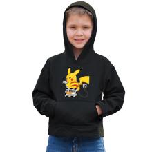 Sweat à capuche Enfant  parodique Pikachu : En Charge... Ne pas déranger ! (Parodie )