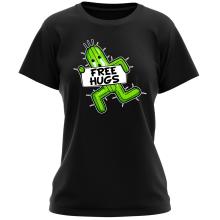T-shirt Femme  parodique Pampa - Free Hugs : Free Hugs :) (Parodie )