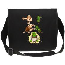 Funny  Canvas Messenger Bag - Giant, Gobelins and Shrek ( Parody) (Ref:894)