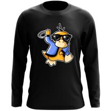 T-Shirt à manches longues  parodique Psykokwak réalisant le Gangnam Style : Gangduck Style by Psyko :) (Parodie )