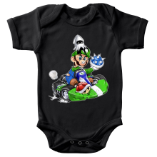 Body bébé  parodique Luigi : Kart Fighter - Player 2 (Parodie )
