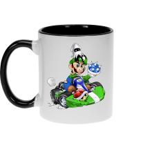 Mug  parodique Luigi : Kart Fighter - Player 2 (Parodie )