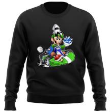 Pull  parodique Luigi : Kart Fighter - Player 2 (Parodie )