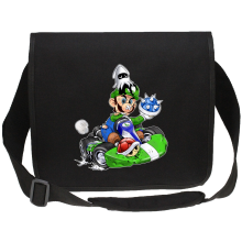 Sac bandoulière Canvas  parodique Luigi : Kart Fighter - Player 2 (Parodie )