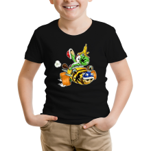 T-shirt Enfant  parodique Yoshi : Kart Fighter - Player 3 (Parodie )